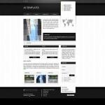 Black Chrome Business Joomla Theme