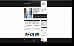 Black Chrome Business Joomla Theme