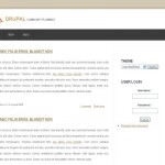 Clean Brown White Business Drupal Theme