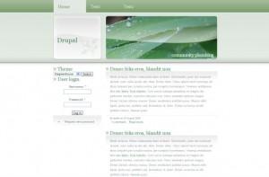 Ecology Nature Green Drupal Theme