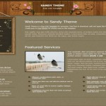 CSS HTML Wooden Free Website Template