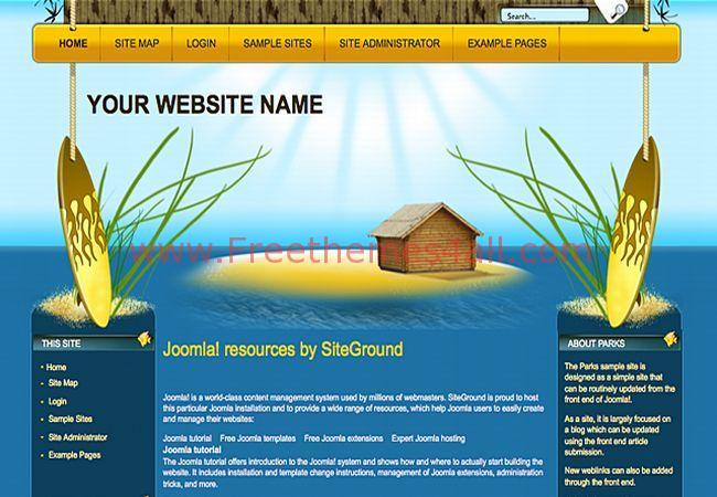 Landscape Joomla Template Theme Download