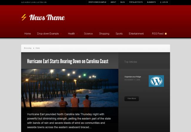 Premium Like News WordPress Theme