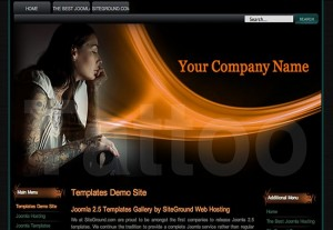 Tattou Joomla Template Download