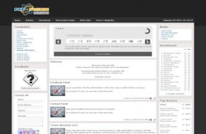 clean-black-php-fusion-theme-free