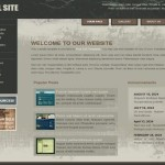 Grunge Business CSS Template Free Download