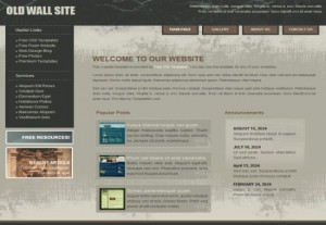 grunge-css-website-template-free