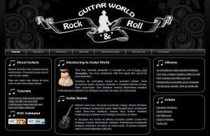 rock-band-css-template-free