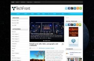 Grunge Technology Wordpress Theme