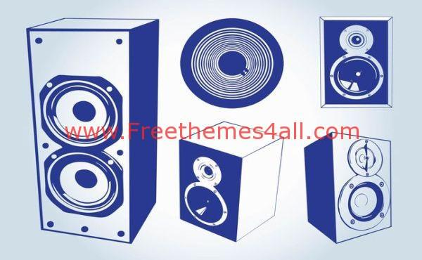 Music Speakers graphics