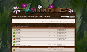 Jungle Forest Phpbb Style
