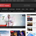 News Magazine Joomla Theme