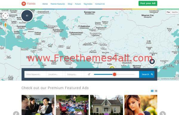 Flat Classified WordPress Theme