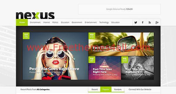 Wordpress Magazine Premium Theme