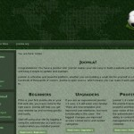 Green Football Joomla Template