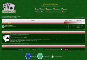 Green Casino Poker Phpbb Style