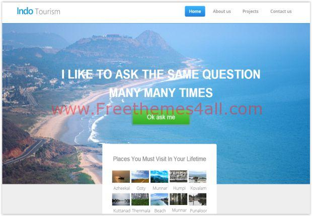 Responsive Travel HTML5 Template