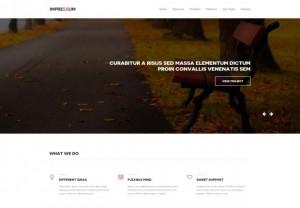 Portfolio Parallax HTML5 Template