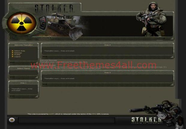 Abstract Stalker E107 Game Template