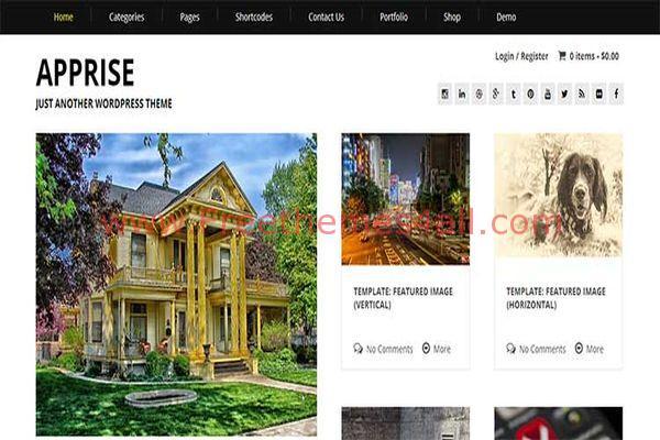 Clean Responsive Blog Wordpress Theme
