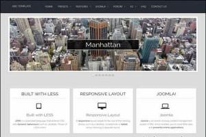 Responsive Joomla Corporate Template