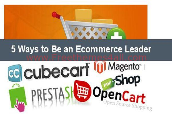 Ways to Be an Ecommerce Leader