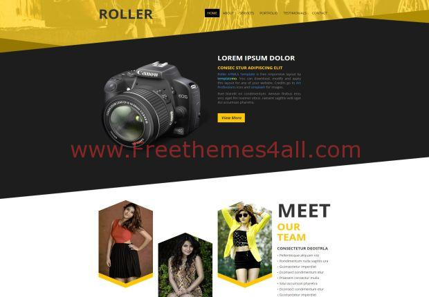 Responsive Photographer Free CSS3 Template