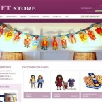 Gifts Store Pink ZenCart Template