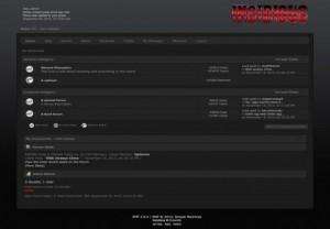 Total Dark Black SMF Theme