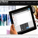 Black Digital Market Joomla Template
