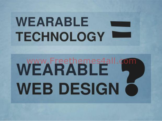 Wearable Technology on Web Design