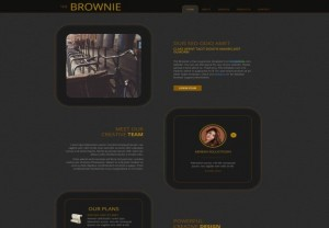 Responsive CSS3 Black Bootstrap Template