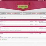 White Pink Responsive Phpbb Style