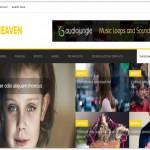 Responsive Yellow Blogger Magazine Theme