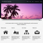 Clean Gray Business Drupal 7 Theme