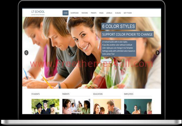 Responsive School Education Joomla Template