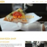 Pizza Restaurant CSS3 Template