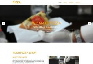 Pizza Restaurant CSS3 Template