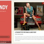 Red Blog Responsive Blogger Template