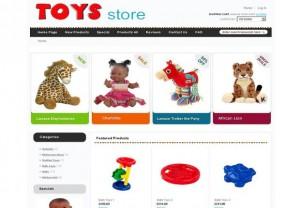 Simple Clean Toys Zen Cart Template