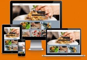 Responsive Restaurant Joomla 3 Template