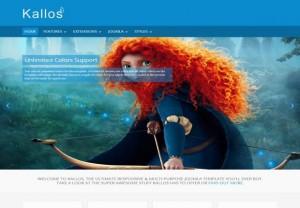 Kallos Multipurpose Joomla 3 Template FREE