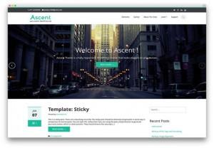 Responsive Business Classic Wordpress Theme