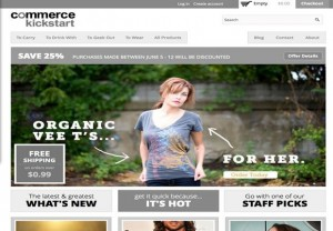 Responsive Commerce Store Drupal Theme