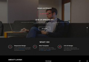 CSS3 Responsive Design Agency Template