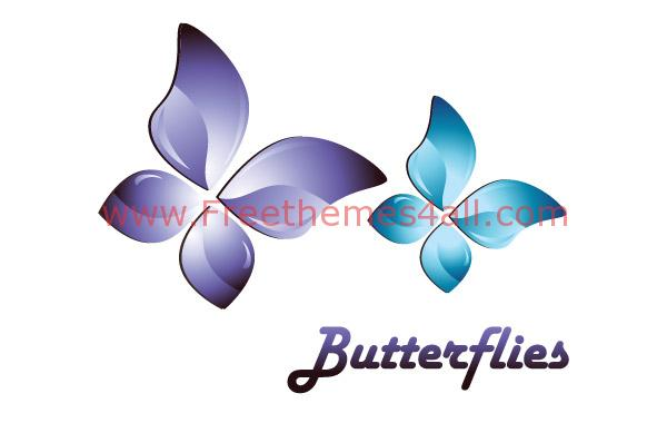 10+ 3D Vector Butterfly Free Download