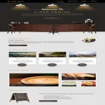 Responsive Brown Cafe CSS3 Template