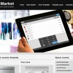 Free Responsive Market Joomla Template