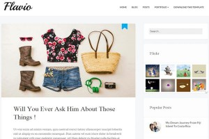 Clean Simple Blogger Responsive Theme
