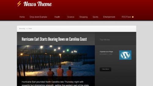 News Premium Like Wordpress Theme